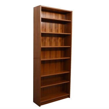 Extra Tall Danish Modern Teak Adjustable Bookcases