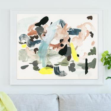 The Companion . extra large wall art . horizontal giclee art print available in all sizes by ClareElsaesser