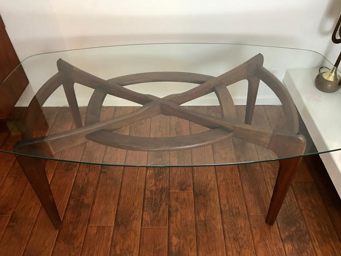 MID CENTURY MODERN Adrian Pearsall Compass Dining Table by HouseCandyLA