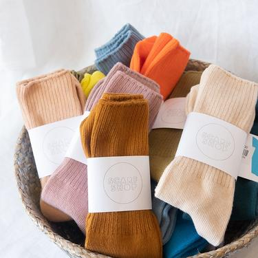 Scarf Shop Hand Dyed Cotton Socks