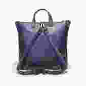 Attache Backpack-Blue
