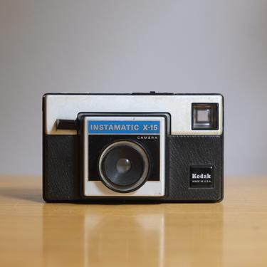 Vintage 1970s Kodak Instamatic X-15 Camera by circlethesquare