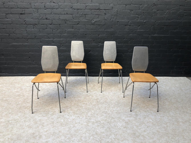 Robert Josten Aluminum Dining Chairs by VintageSupplyLA