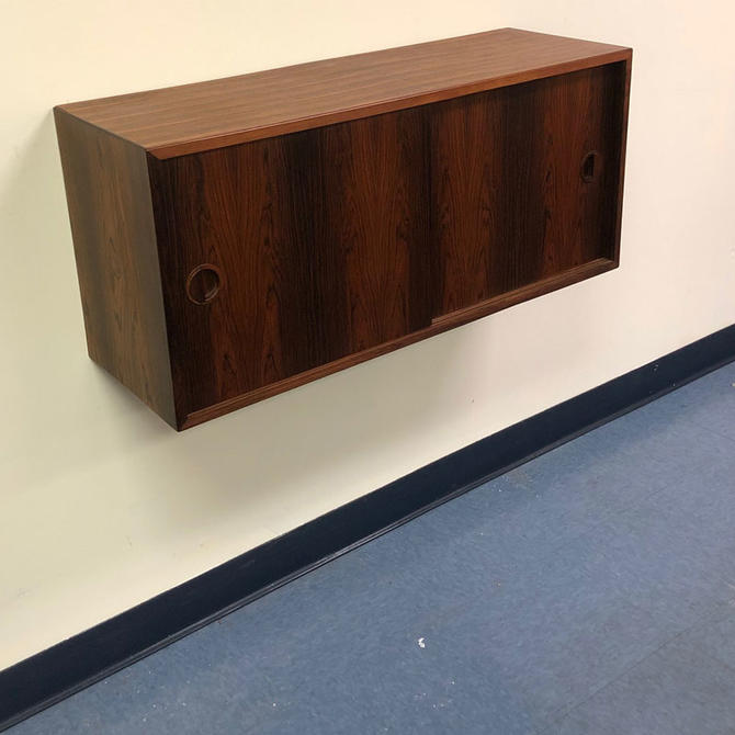 HA-18244 Floating Rosewood HG Cabinet Sliding Doors