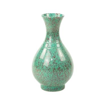 Antique Chinese Hong Ban Jun Glaze Qian Long Vase by BluffStProps