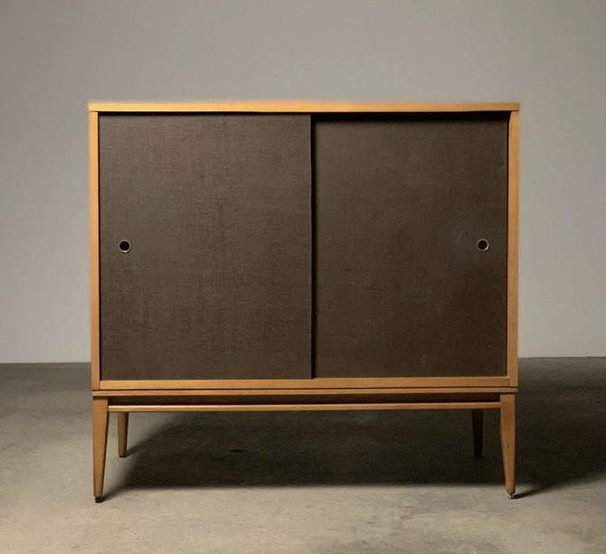 Free and Insured Shipping Within US - Paul McCobb Credenza TV Cabinet Storage Shelf by BigWhaleConsignment