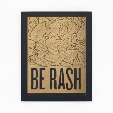 Be Rash | Golden