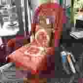 Swivel Wicker Chair