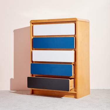 Laminated Wooden Dresser