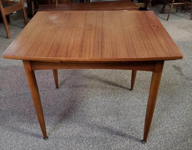 Item MA165 Vintage Teak Draw Leaf Dining Table c.1960