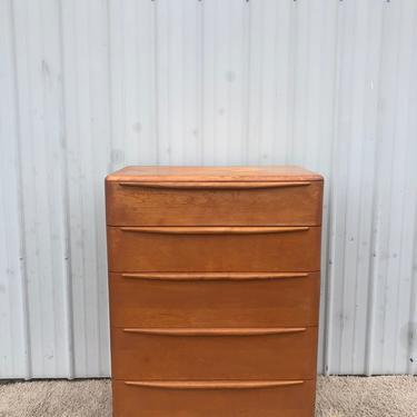 Mid Century Highboy Dresser by Heywood Wakefield