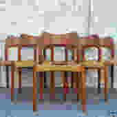Arne Hovmand Olsen for Mogens Kold Denmark Teak Dining Chair