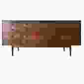 #519: 9 Drawer Mid Century Dresser