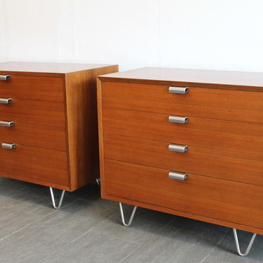 George Nelson Herman Miller Chest of Drawers Hairpin Legs