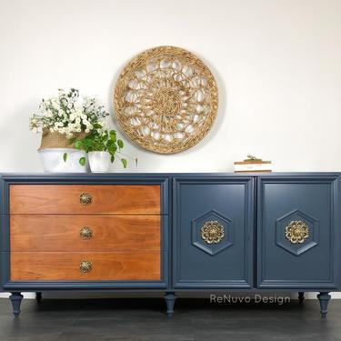 Mid Century Credenza Dresser by ReNuvoDesign