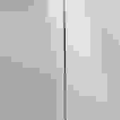 French Marble Base Chrome Body 1980s Modern Floor Lamp