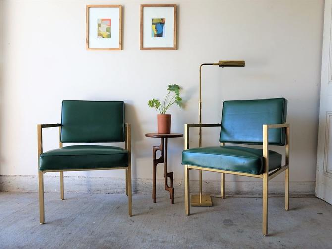 Emerald + Gold Chairs