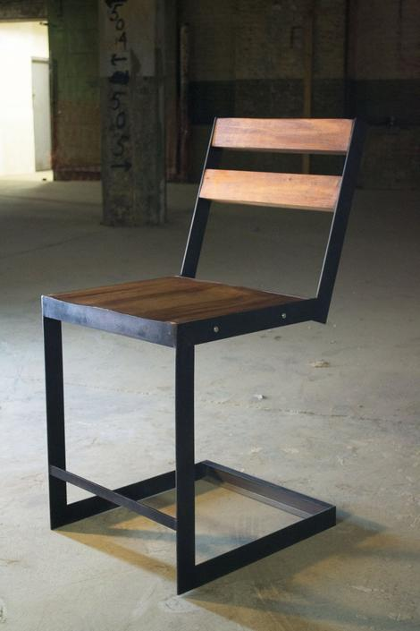 Slim Steel Chair SET! by twoboltsstudios