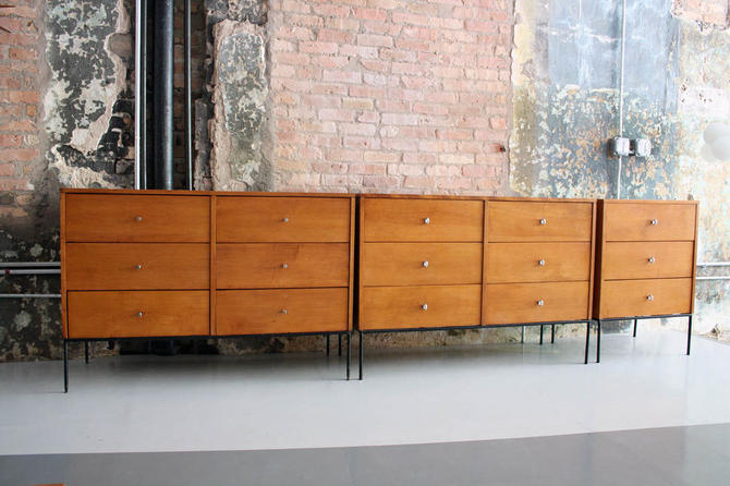 3 Planner Group dressers by Paul Mccobb for Winchendon