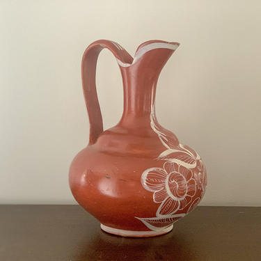 Ceramic water pitcher by FrankiesVintageTrunk