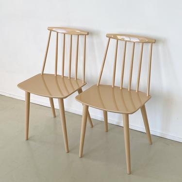 Vintage Danish J77 Chair by Folke Pålsson for FDB Møbler