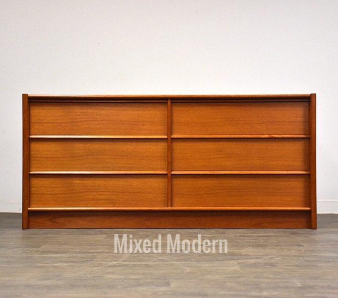 Danish Teak Dresser by Jespersen by mixedmodern1