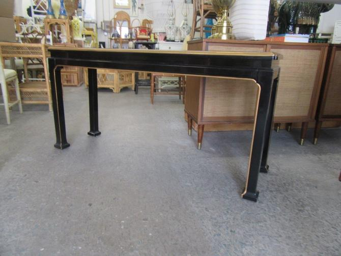 Asian Inspired Lacquered Console