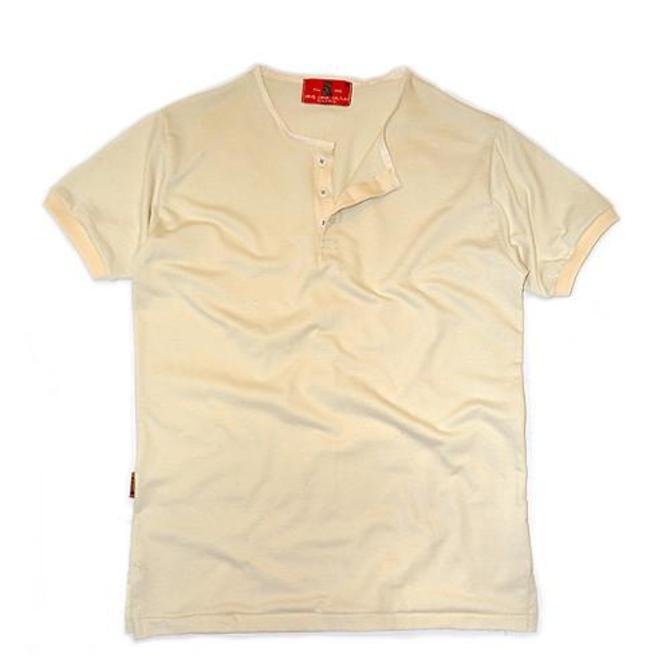 Wrigley Short Sleeve Henley (Albino)
