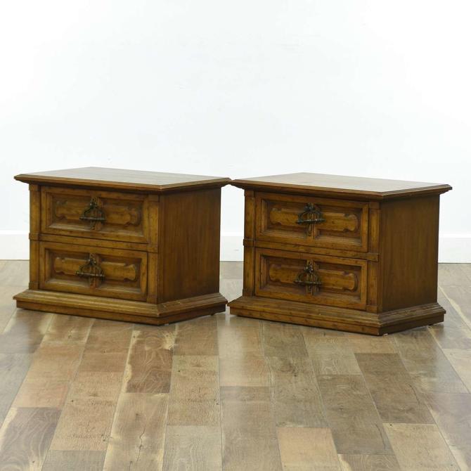Pair Of Drexel Heritage Traditional Nightstand