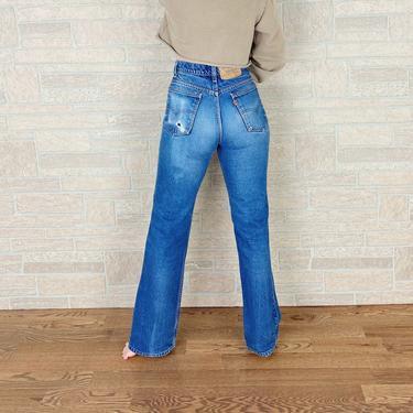 Levi's 517 Orange Tab Jeans / Size 28 by NoteworthyGarments