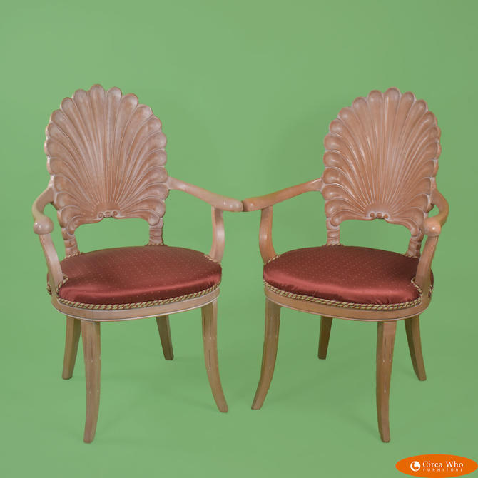 Pair of Grotto Arm Chairs