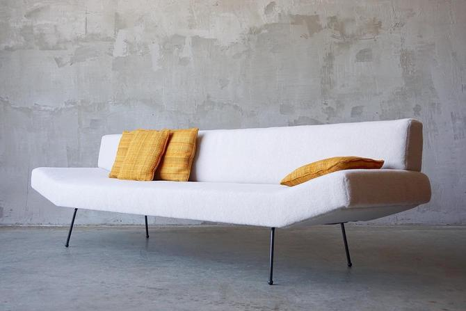 Rare Adrian Pearsall Iron Sofa by FandFVintage