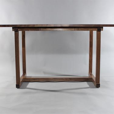 """Custom 60"""" x 30"""" desk or dining table mid century mission and contemporary style by GRWoodworker"""