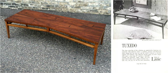 Rare Lane 'butterfly' Coffee Table
