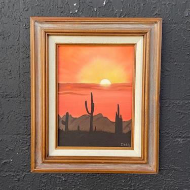 Southwest Desert Landscape Painting