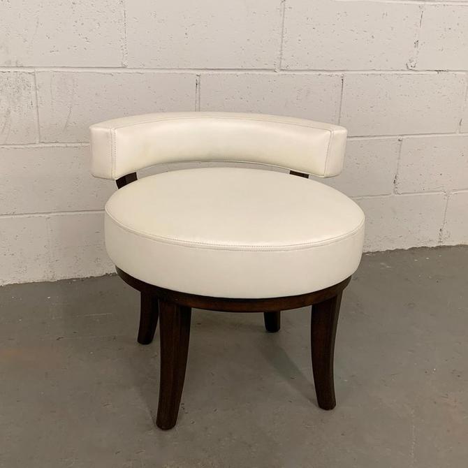 Mid Century Modern Swivel Vanity Chair