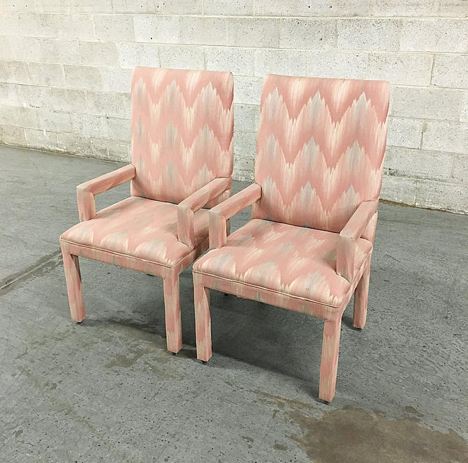 LOCAL PICKUP ONLY-----------Vintage Set of 2 Dining Chairs by RetrospectVintage215