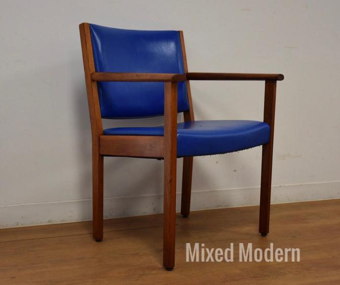 Danish Style Teak Desk Chair by mixedmodern1