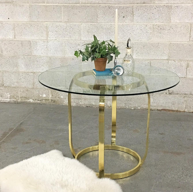 LOCAL PICKUP ONLY ———— Vintage Dia Dining Table by RetrospectVintage215