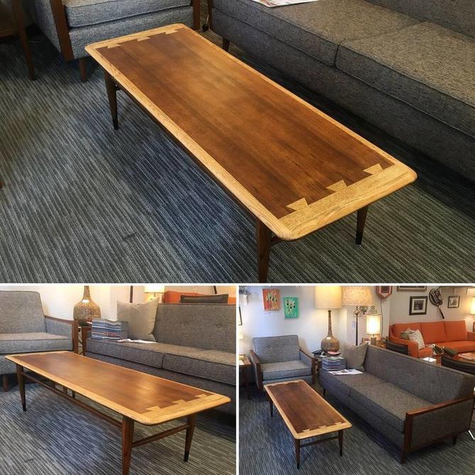 Vintage Mid Century Lane Coffee Table