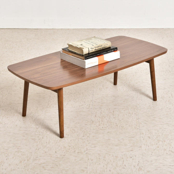 NEATO Series Walnut Sleek Coffee Table