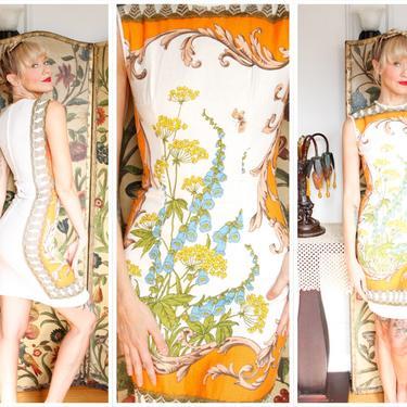 1960s Dress // Last Days of Summer Dress // vintage 60s sheath dress by dethrosevintage