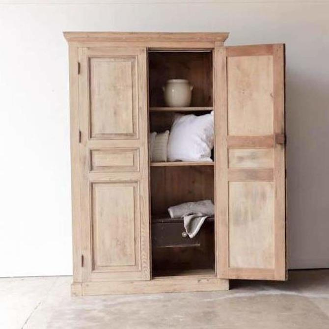 Large Vintage Pine Cabinet