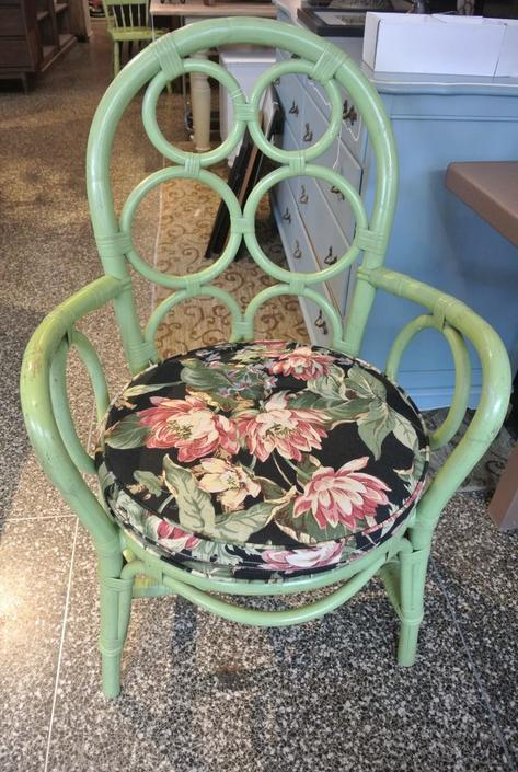 Rattan Chair. $95
