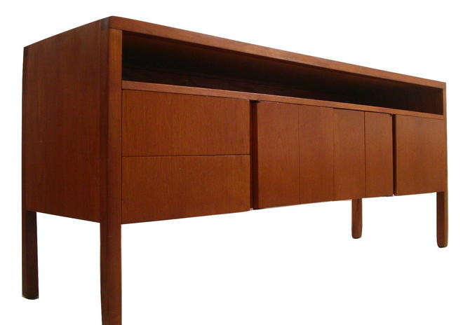 Danish Modern MCM Office Audio Credenza by HeliKon (Herman Miller) Knoll QUALITY