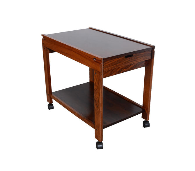 Rosewood Bar Cart Aksel Kjersgaard Model 702 Kia Kristiansen Danish Modern by HearthsideHome
