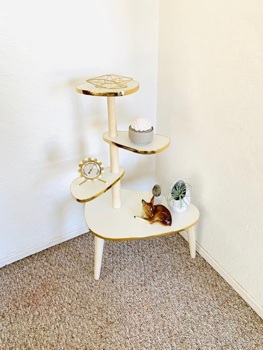 Retro Plant Formica Table by dadacat