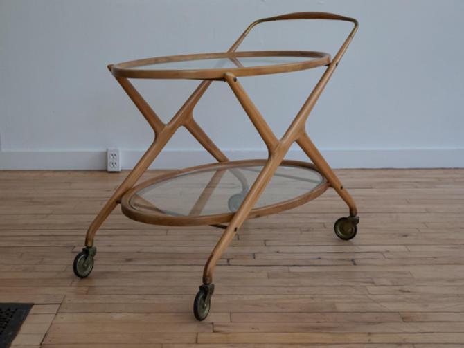 Cesare Lacca Style Bar Cart