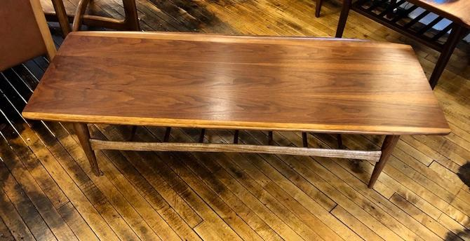 Mid Century Surfboard Coffee Table by Bassett Furniture 1950's