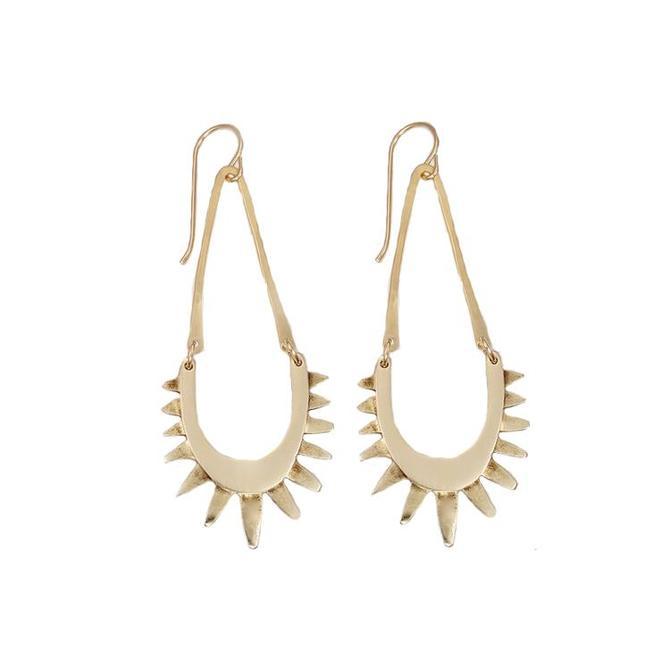 Luz Earring - Brass